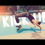 آموزش حرکت kick up برپا شدن رزمی گام به گام و فارسی