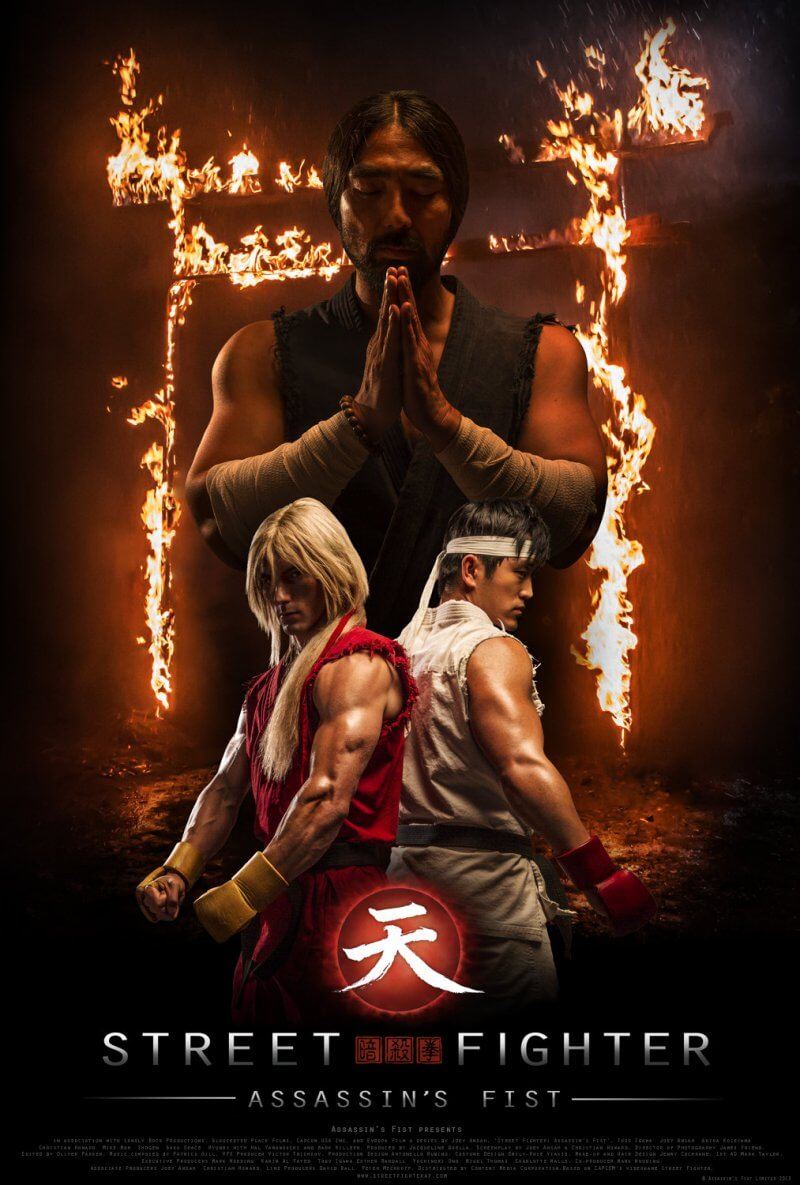 دانلود فیلم Street Fighter Assassins Fist 2014